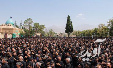 برگزاری مراسم پرشور عاشورای حسینی در ماهان کرمان