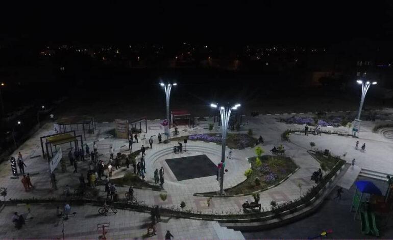 بوستان «شببو» در شهرک الغدیر به بهرهبرداری رسید