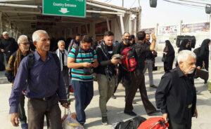 زائران مراجعه نکنند؛ مرز مهران بسته است
