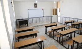 کلنگزنی ساخت ۳۰ کلاس درس در شهرستان جیرفت