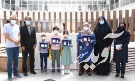 جوایز برندگان «نخستین جشنوارۀ جهانی نقاشی کودک» شهرداری کرمان اهدا شد
