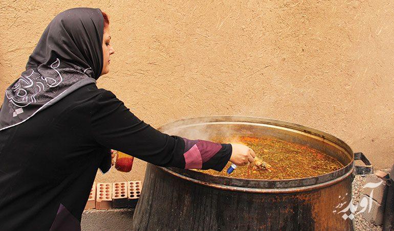 آبگوشت کرمانی با طعمی خاص