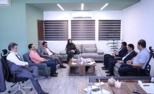 دیدار مدیر کل نوسازی مدارس و رئیس سازمان نظام مهندسی استان کرمان