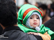 شیوه برگزاری مراسم تاسوعای حسینی در شهر کرمان + عکس