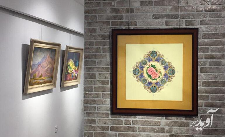 برگزاری نمایشگاه شرح اشتیاق در گالری باران رفسنجان