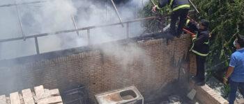 مهار آتشسوزی در رستورانی واقع در چهارراه «فرهنگیان»